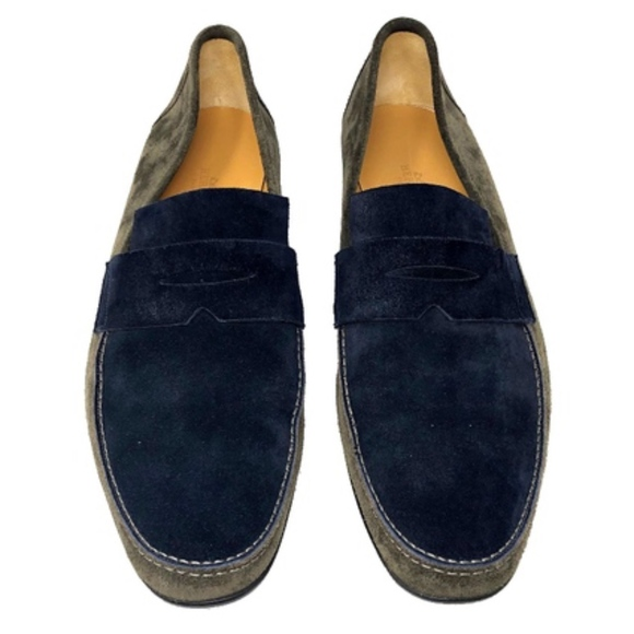 Hermes Other - Hermes Suede Two Toned Tokyo Loafers